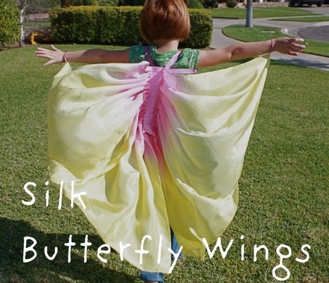 Silk Scarf Butterfly Wings | Parent Autrement à Tahiti | Scoop.it