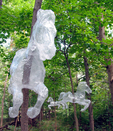 Packing Tape Sculptures | Artistic Development, Globalization, and Environmental Art | Scoop.it