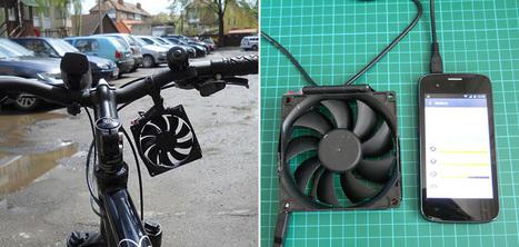 Un dispositif qui transforme votre vélo en chargeur pour smartphone   Innovations urbaines   Scoop.it