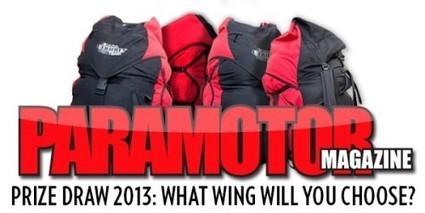 Gagnez une voile de paramoteur avec Paramotor Magazine | Le marcheur de l'air. Paramotoriste | Scoop.it