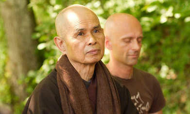"WHY GOOGLE AND SONY ARE TURNING TO NATURE TO INSPIRE THEIR LEADERS. The wisdom of zen master Thich Nhat Hanh | Corporate ""Social"" Responsibility – #CSR #Sustainability #SocioEconomic #Community #Brands #Environment 