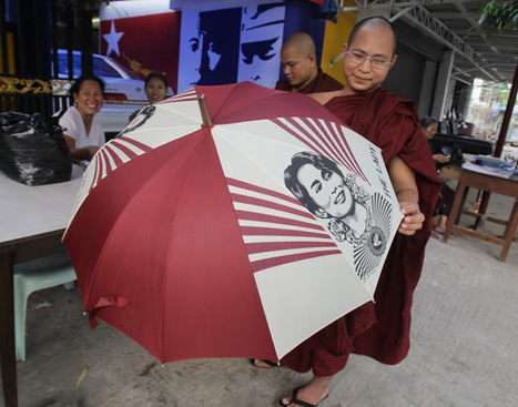 Land Destroyer: Myanmar: Meet Aung San Suu Kyi's Saffron Mobs | Global politics | Scoop.it