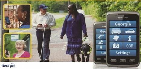 Android para discapacitados visuales: Georgie - El Androide Libre | educacion-y-ntic | Scoop.it