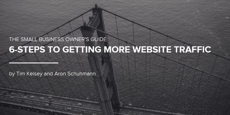6 Steps for Getting More Visitors to Your Website | 123MULTIMEDIA | Scoop.it