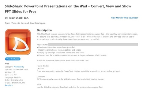 PowerPoint on the iPad | Tech in je klas | Scoop.it