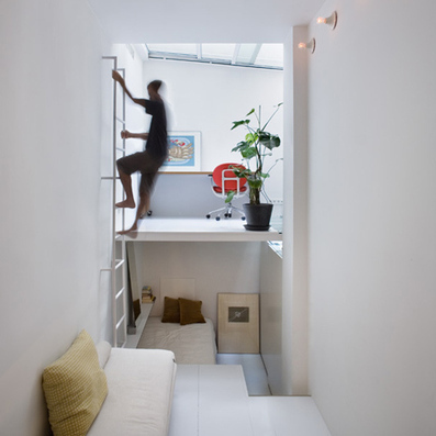 rooms connected by a ladder - Dezeen | Organizing | Scoop.it