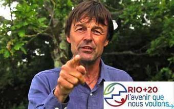 RIO +20 - le soutien de NICOLAS HULOT au cacique RAONI, qui milite pour sauver la forêt amazonienne | Gaia news | Scoop.it