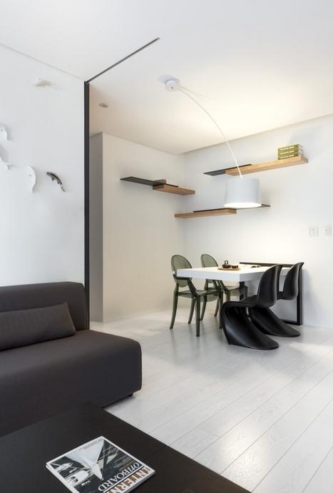Extremely modern and minimalistic flat - Viskas apie interjerą | Interior ideas by E-interjeras | Scoop.it