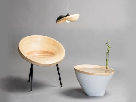 Des meubles en mouvement grâce à des rouleaux de bambou | L'Etablisienne, un atelier pour créer, fabriquer, rénover, personnaliser... | Scoop.it