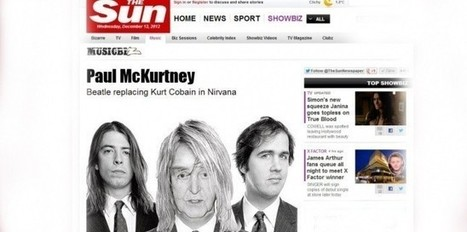 Nirvana sur scène avec Paul McCartney, le concert surprise | News musique | Scoop.it