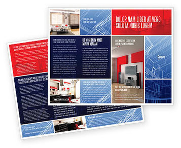 Interior Design In 3D Modeling Brochure Template | Brochure Templates | Scoop.it