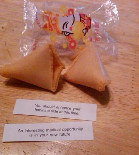 24 Hilarious Fortune Cookie Notes | Funny humor | Scoop.it