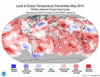Highest Global Temps on Record for Month of May - Yahoo News | mois | Scoop.it