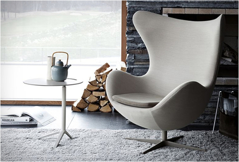 EGG CHAIR | BY ARNE JACOBSEN | Arne Jacobsen | Scoop.it