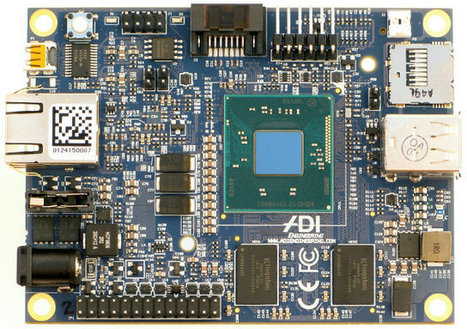 MinnowBoard Turbot SBC Gets an Intel Atom E3826 Dual Core Processor, FCC & CE Certification | Embedded Systems News | Scoop.it