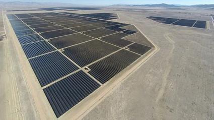 World's largest solar farm is up and running in California - Phys.Org | All-Energy | Scoop.it