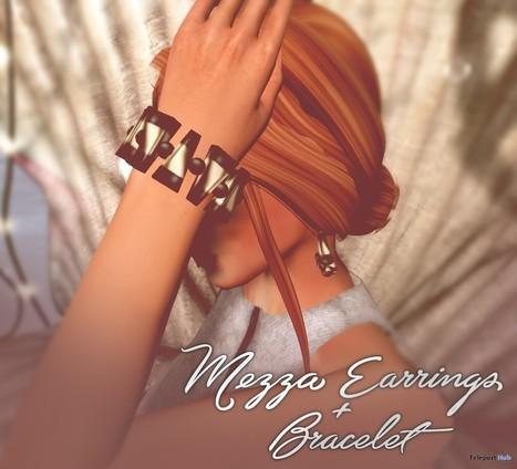 Mezza Earrings Bracelet Group Gift by Leticia's Store | Teleport Hub - Second Life Freebies | Second Life Freebies | Scoop.it
