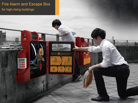 Fire Alarm and Escape Box for High-rise Building | architecture design | Scoop.it