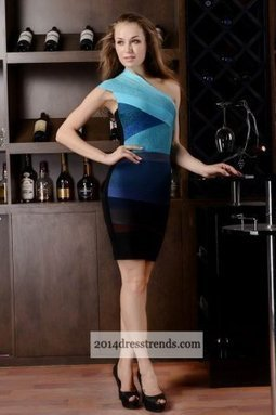 Herve Leger Asymmetrical Blue Ombre Bandage Dress [Blue Ombre Bandage Dress] - $168.00 : 2014 Cheap Tailored Prom Dresses, Homecoming Dresses On Sale, Save Up 70% | cheap herve leger | Scoop.it