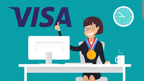 Visa is hiring Olympians to work in the office | Payment solutions | Scoop.it