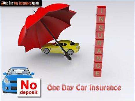 Cheap One Day Car Insurance Usa Full Coverage - Get Full Coverage and Make Your Journey Safe | PRLog | One Day Auto Insurance | Scoop.it