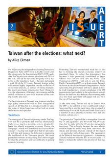 Taiwan after the elections: what next? | Géopolitique de l'Asie | Scoop.it
