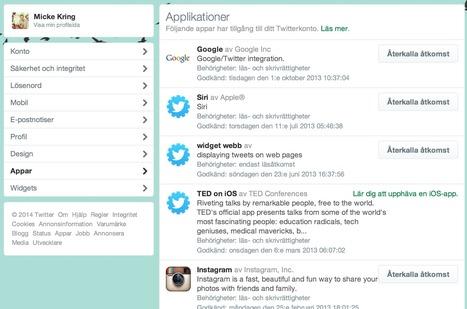 mickekring.se - Hjälp! Nån har hackat mitt Twitter! | Folkbildning på nätet | Scoop.it