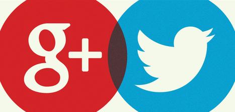 Google + et Twitter : comment utiliser les deux plateformes | Outils et pratiques du web | Scoop.it