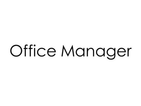 Focus sur le métier d'Office Manager | leblogDyenabaD | TOPIC DDOM | Scoop.it