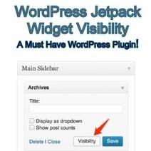 WordPress Jetpack Widget Visibility - A Must Have WordPress Plugin! | Allround Social Media Marketing | Scoop.it