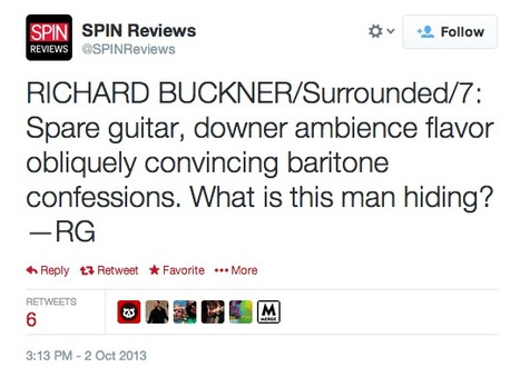 Tweet from @SPINReviews | Review & Criticism on Social Media | Scoop.it