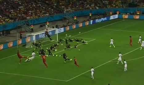 Watch all of Tim Howard's World Cup record 16 saves AT THE SAME TIME | Un peu de tout et de rien ... | Scoop.it
