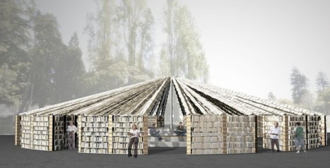 A #Library & Public Art Space Built with 50,000 Free Books | 1001 Glossaries, dictionaries, resources | Scoop.it