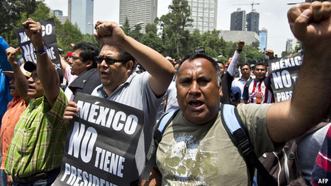 The suits v the street | Mexican politics | Scoop.it