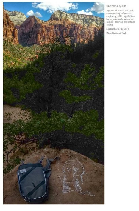 Despicable New York Woman Defaces Yosemite, Other Parks With Her Art - SFist | Ancient Stones Unturned | Scoop.it