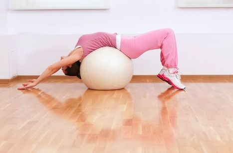 Improve Posture with Exercise Ball Chair | CNA & YOGA | Scoop.it
