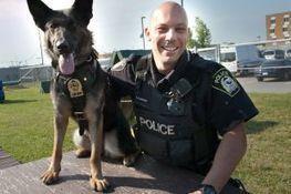 Un nouveau maître-chien pour la police - Courrier Laval | Formation maître chien | Scoop.it