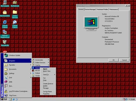 The Windows Start menu saga, from 1993 to today   Outbreaks of Futurity   Scoop.it