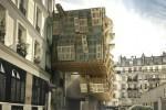 Rhabiller une facade d'immeuble avec des palettes | Palettes | Scoop.it