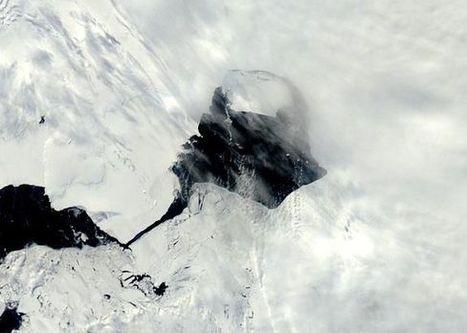 Massive Antarctic iceberg sets sail | science | Scoop.it