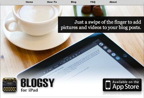 Blogsy for iPad | APPY HOUR | Scoop.it