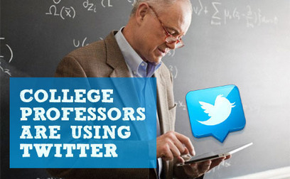 How College Professors Are Using Twitter to Re-Engage Their Students | Social Media and its influence | Scoop.it
