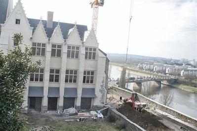 Châteaud'Angers : le logis royal qui avait pris feu rouvre dès cet été | Revue de Web par ClC | Scoop.it