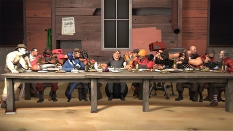 Dayshot: Da Vinci's Iconic The Last Supper, Turned Into A Team ...   Renaissance Paintings   Scoop.it