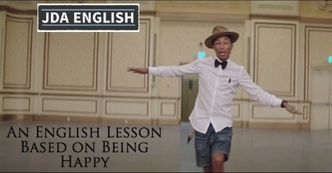 An English Lesson on Being Happy (with a happy song) | Learning English is a Journey | Scoop.it