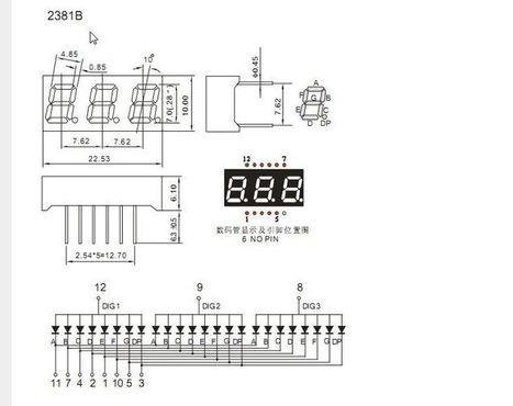 Re: 3 Digit 7 segment display + Arudino - Multiplexing , Counter | Raspberry Pi | Scoop.it