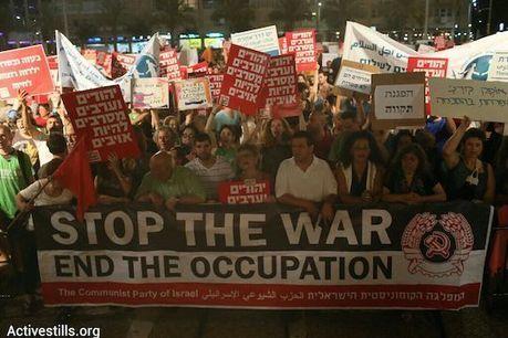 'No more deaths': Thousands of Israelis protest the Gaza war | +972 Magazine | Où va le monde ? | Scoop.it