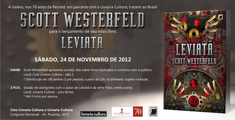 Leitora Viciada: Eventos da Galera Record em São Paulo e Rio de Janeiro   Ficção científica literária   Scoop.it