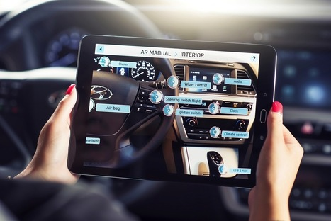 Hyundai makes owner's manuals more interesting with augmented reality | Future Trends and Advances In Education and Technology | Scoop.it