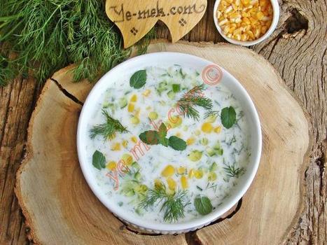 Soğuk Mısır Çorbası Tarifi (Resimli Anlatım) | Kolay ve Pratik Resimli Yemek Tarifleri | Göbeğim | Pratik Yemek Tarifleri | Scoop.it